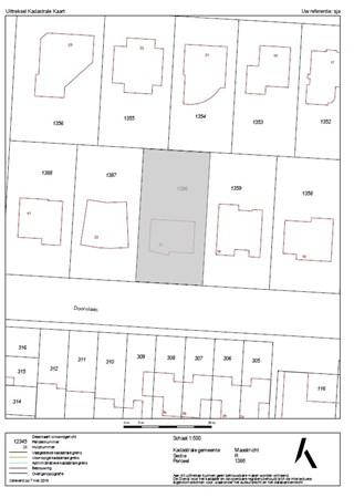 Floorplan - Doornlaan 20, 6226 WV Maastricht