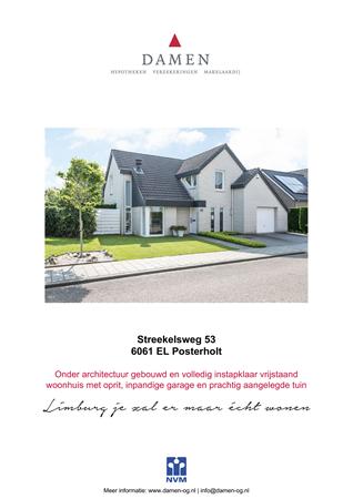 Brochure preview - Streekelsweg 53, 6061 EL POSTERHOLT (1)