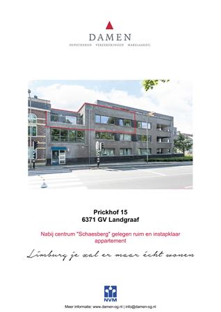 Brochure preview - Prickhof 15, 6371 GV LANDGRAAF (1)