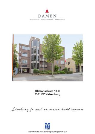 Brochure preview - Stationsstraat 15-K, 6301 EZ VALKENBURG (1)