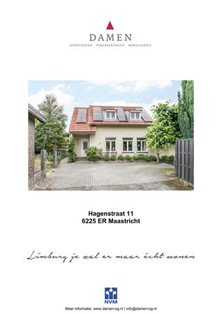 Brochure preview - Hagenstraat 11, 6225 ER MAASTRICHT (1)