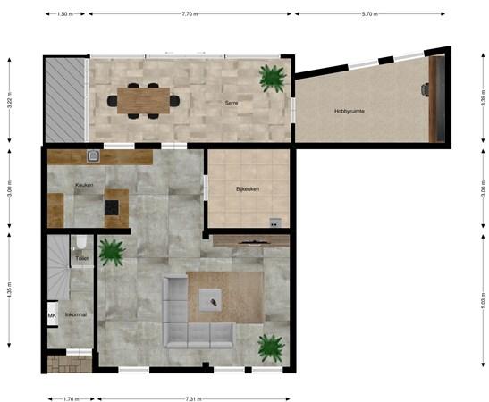 Floorplan - Hagenstraat 11, 6225 ER Maastricht