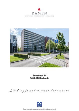 Brochure preview - Zonstraat 84, 6463 AD KERKRADE (1)