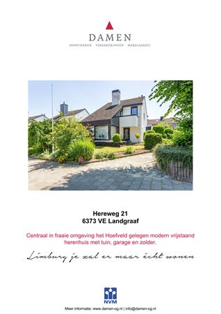 Brochure preview - Hereweg 21, 6373 VE LANDGRAAF (1)