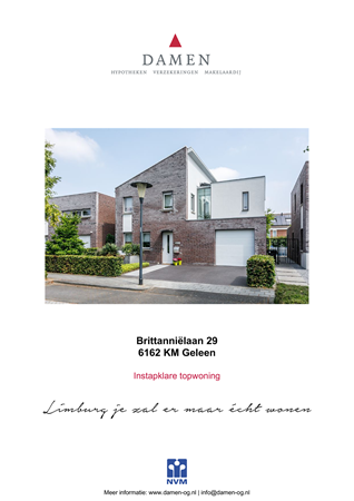 Brochure preview - Brittanniëlaan 29, 6162 KM GELEEN (1)