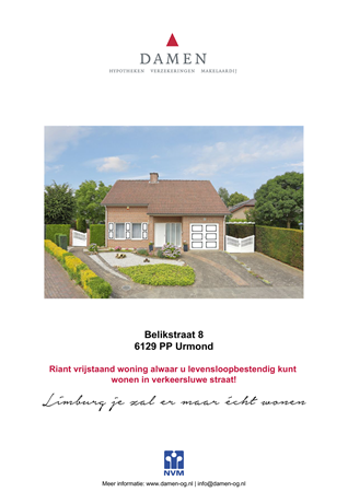Brochure preview - Belikstraat 8, 6129 PP URMOND (2)