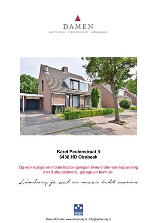 Brochure preview - Karel Peulenstraat 9, 6438 HD OIRSBEEK (1)