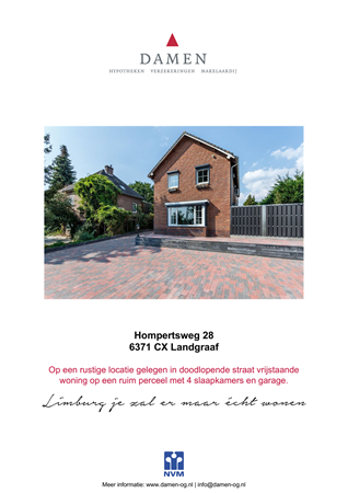 Brochure preview - Hompertsweg 28, 6371 CX LANDGRAAF (1)