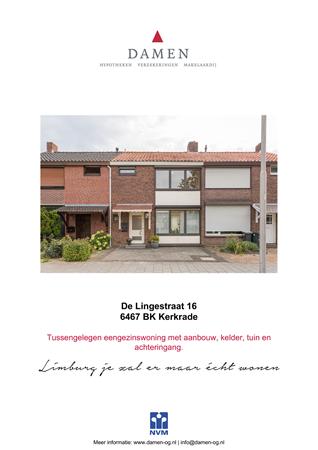 Brochure preview - De Lingestraat 16, 6467 BK KERKRADE (1)