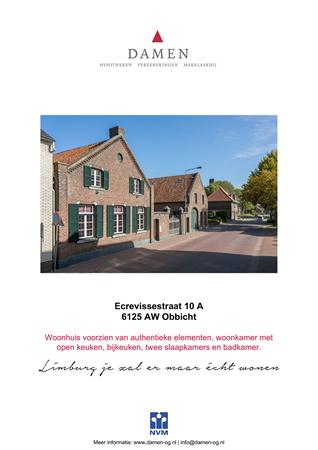 Brochure preview - Ecrevissestraat 10-A, 6125 AW OBBICHT (1)