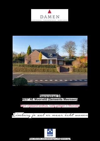 Brochure preview - Heerenstraat 54, 6237 NE MOORVELD (1)