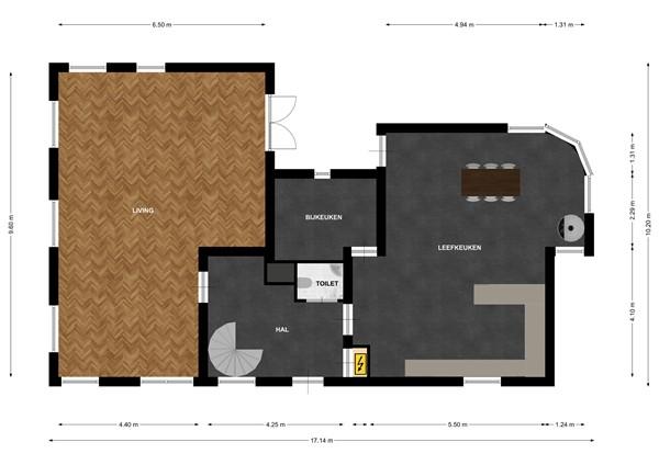Floorplan - Kapelweien 2A, 6374 LX Landgraaf