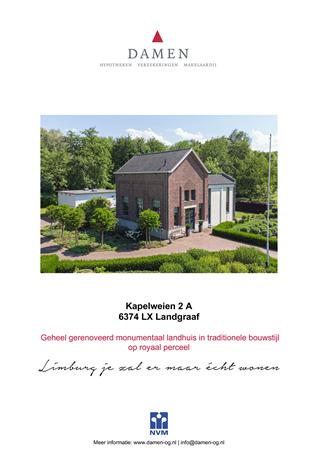 Brochure preview - Kapelweien 2-A, 6374 LX LANDGRAAF (1)