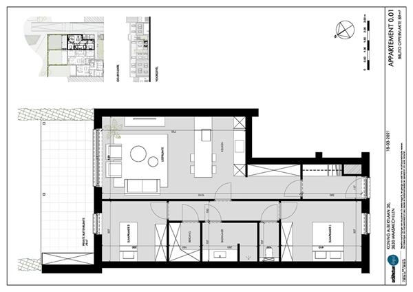 Floorplan - Koning Albertlaan 30-0.01, 3630 Maasmechelen