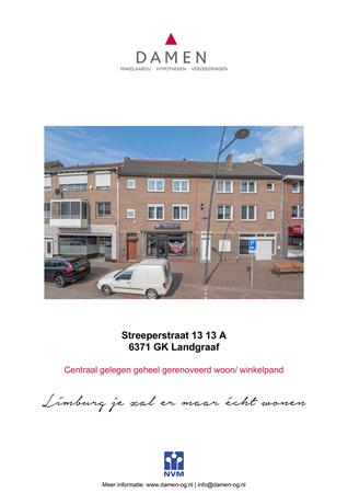 Brochure preview - Streeperstraat 13-13 A, 6371 GK LANDGRAAF (1)