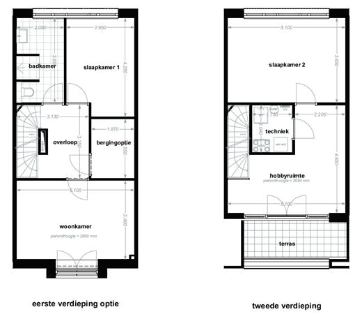 Floorplan - Schinkelstraat Bouwnummer 107, 6411 LN Heerlen