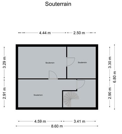 Floorplan - Valkenburgerweg 149, 6419 AT Heerlen