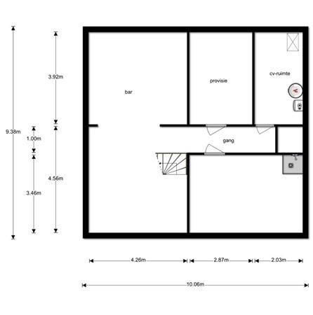 Floorplan - Buizerdweg 6, 6374 BS Landgraaf
