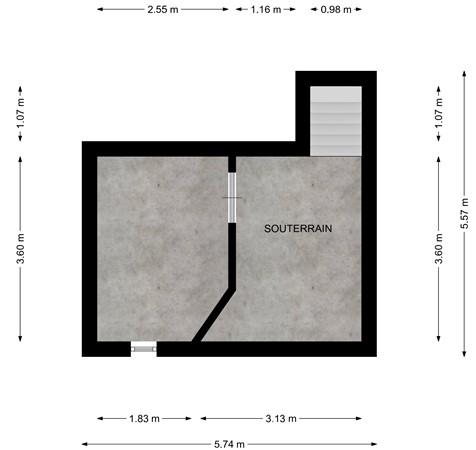 Floorplan - Toupsbergstraat 27, 6463 EA Kerkrade