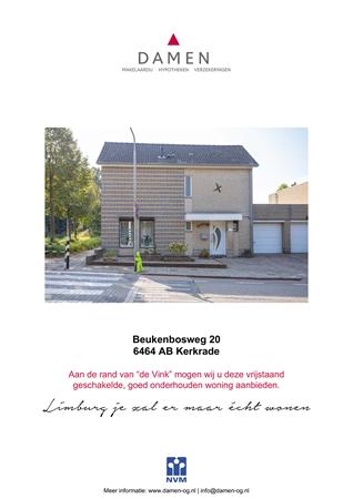 Brochure preview - Beukenbosweg 20, 6464 AB KERKRADE (2)