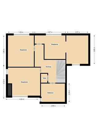 Floorplan - Mies Van Der Rohestraat 1, 6374 PG Landgraaf