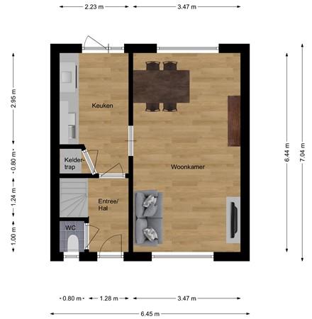 Floorplan - Seghemanstraat 39, 6467 BG Kerkrade