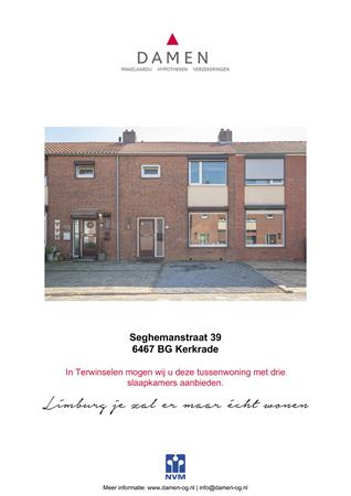 Brochure preview - Seghemanstraat 39, 6467 BG KERKRADE (1)