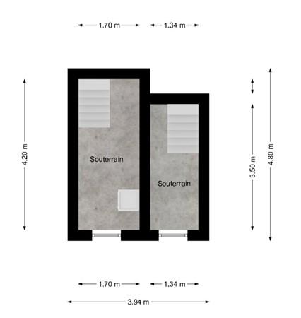 Floorplan - Drievogelstraat 24-26, 6466 GM Kerkrade