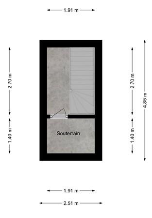 Floorplan - Lupinestraat 188, 6466 SM Kerkrade