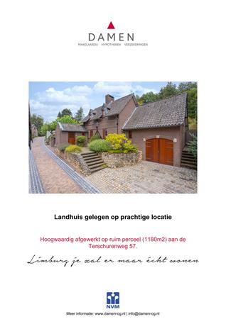 Brochure preview - Terschurenweg 57, 6432 JS HOENSBROEK (1)