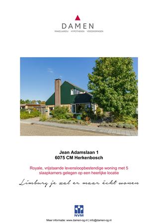 Brochure preview - Jean Adamslaan 1, 6075 CM HERKENBOSCH (1)