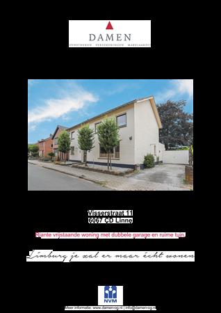 Brochure preview - Visserstraat 11, 6067 CD LINNE (1)
