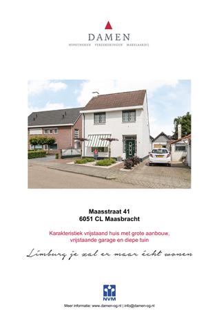 Brochure preview - Maasstraat 41, 6051 CL MAASBRACHT (1)
