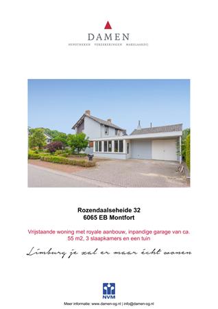 Brochure preview - Rozendaalseheide 32, 6065 EB MONTFORT (1)