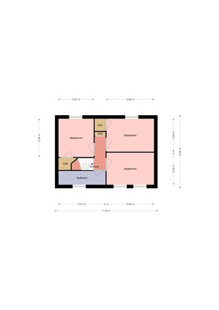 Floorplan - Volkerakweg 3, 4794 SJ Heijningen