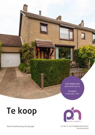 Brochure preview - Johan Berkstraat 19, 3284 XD ZUID-BEIJERLAND (1)