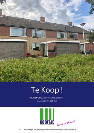 Brochure preview - Oranjelaan 106, 2231 ZG RIJNSBURG (1)