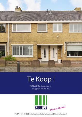 Brochure preview - Kanaalstraat 30, 2231 KC RIJNSBURG (1)