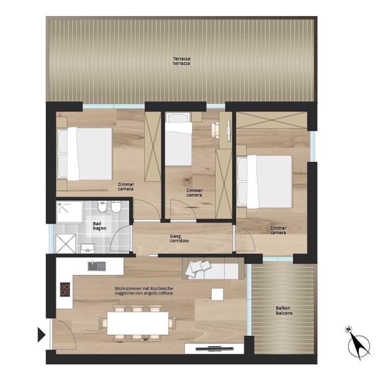 Floorplan - 39034 Dobbiaco