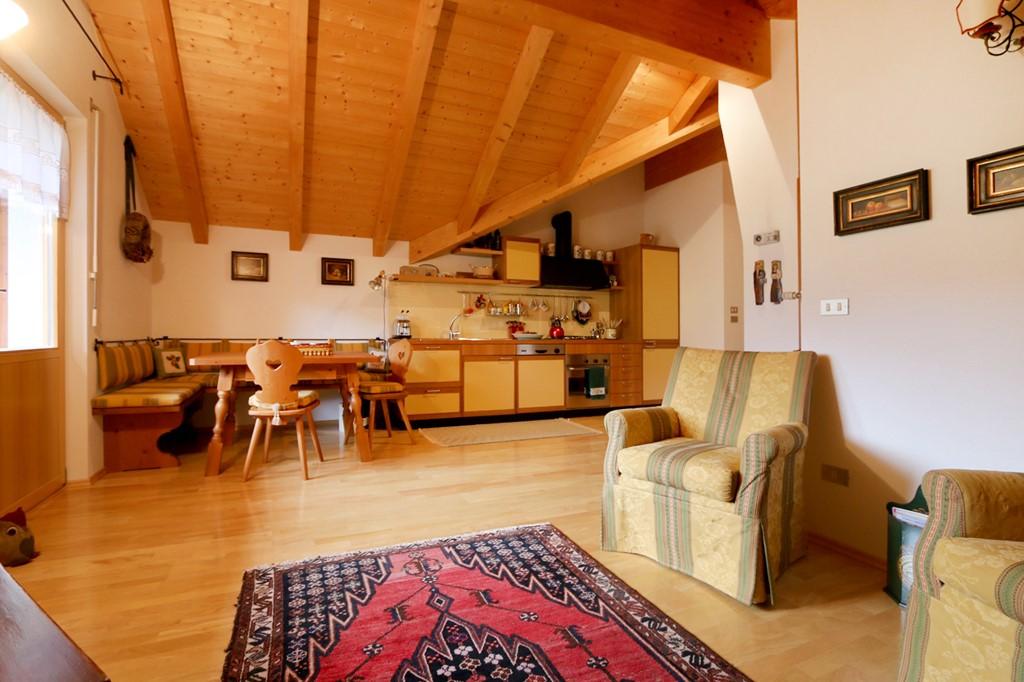 Wohnzimmer mit Kochecke