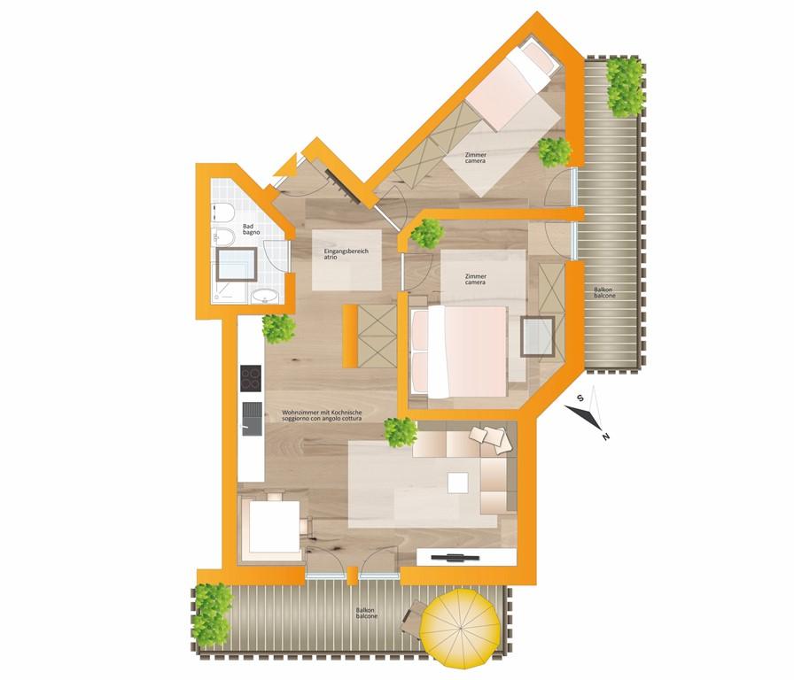 Floorplan - 39035 Monguelfo-Tesido