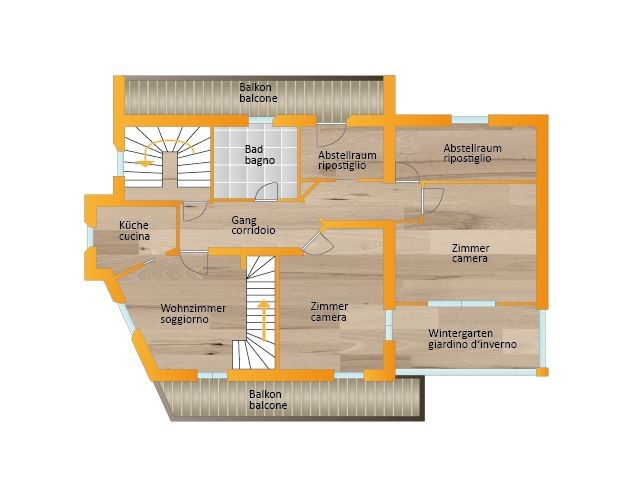 Floorplan - 39030 Predoi