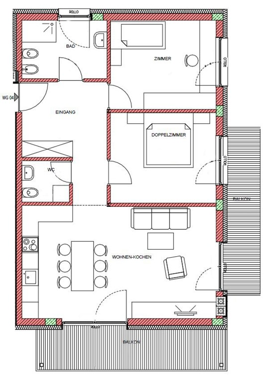 Floorplan - 39030 Bruneck