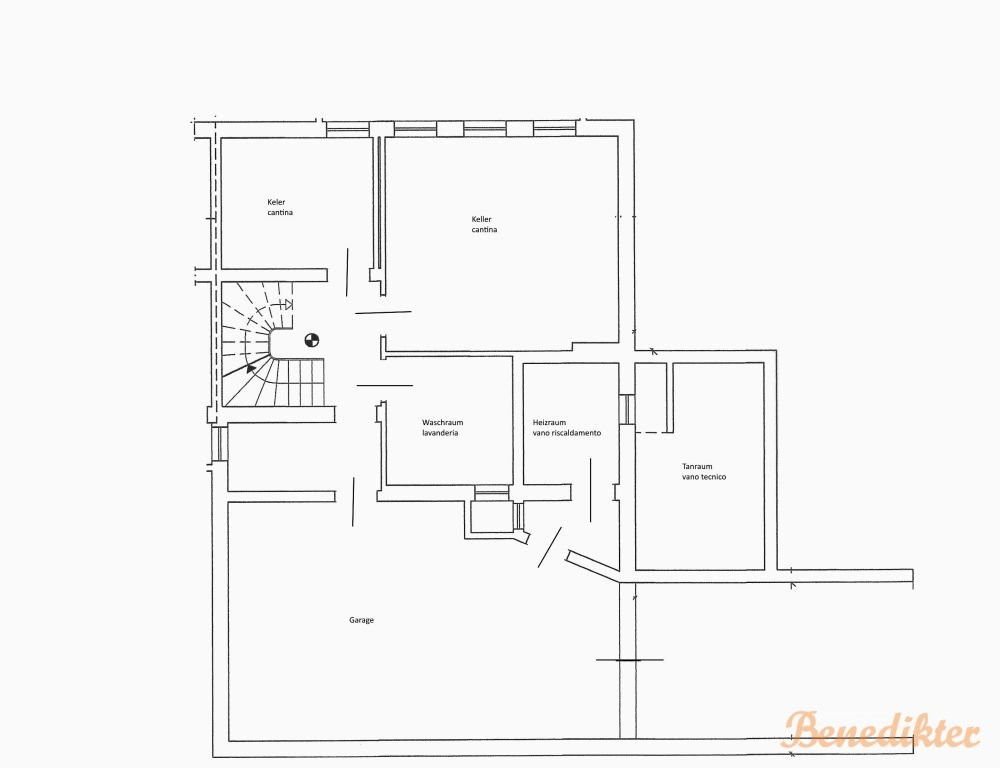 Floorplan - 39050 Cornedo all'Isarco