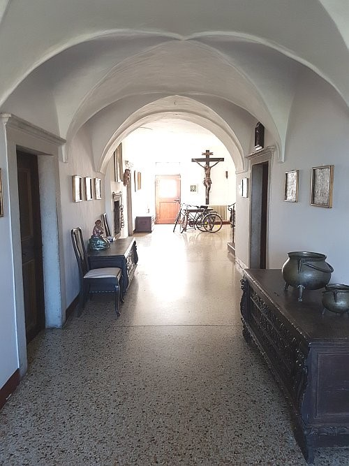 Eingang mit Gewölbe