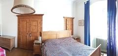 Holzboden im Zimmer