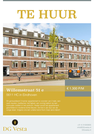 Brochure preview - Willemstraat 51-e, 5611 HC EINDHOVEN (1)