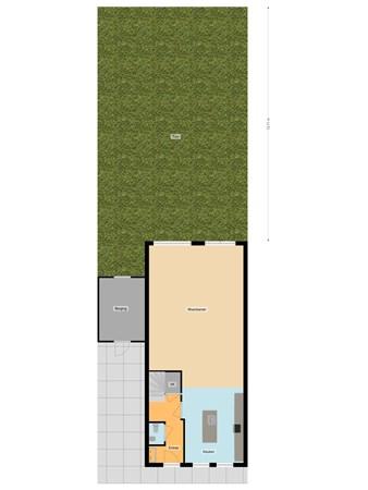 Floorplan - Boelijn 226, 1319 DP Almere