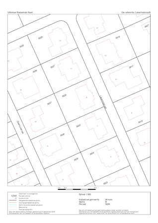 Floorplan - Lakenhalstraat 9, 1335 XJ Almere