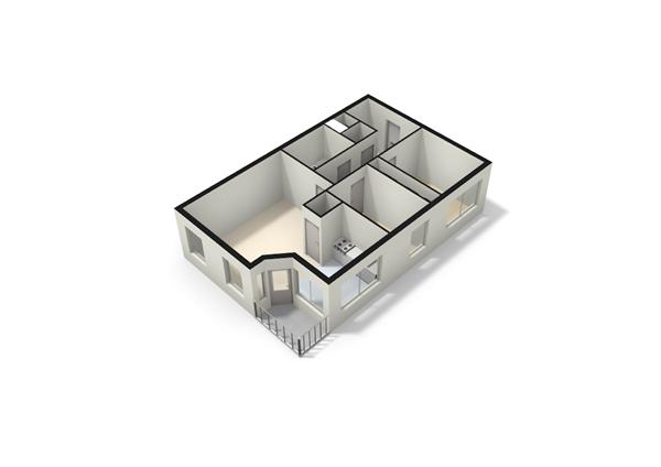 Floorplan - Oppenheimplein 1C, 3551 BN Utrecht